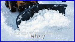 NEW 96 VIRNIG V-SNOW PLOW ATTACHMENT Bobcat Skid Steer Loader V-Plow V-Blade 8