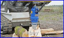 NEW AUGER DRIVE LOG SPLITTER CONE / BIT Skid Steer Loader Wood Screw 2 HEX