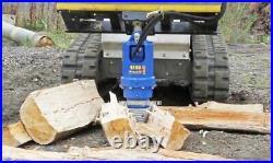 NEW AUGER LOG SPLITTER CONE for Skid Steer Loader & Excavator Auger Drive 2 HEX
