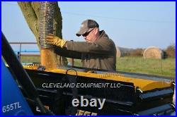 NEW DANUSER S75 MEGA MIXER ATTACHMENT Skid Steer Loader Side Discharge Bucket