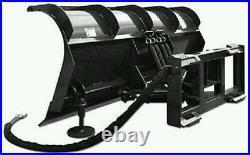 NEW HD 84 7 SNOWPLOW SKID STEER LOADER, snow plow bobcat, cat, Tractor kubota CID