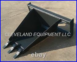 NEW HD STUMP BUCKET ATTACHMENT for Bobcat Skid Steer Loader Tree Digger Shovel