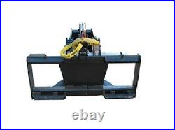NEW HD STUMP BUCKET GRAPPLE SKID STEER LOADER MOUNT. Tractors bobcat cat holland