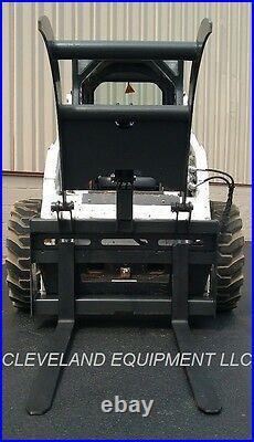 NEW PALLET FORK GRAPPLE SKID STEER LOADER ATTACHMENT Tine Log Root Rake Bucket