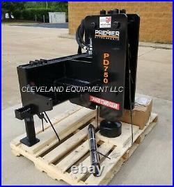 NEW PREMIER PD750 FENCE POST DRIVER POUNDER ATTACHMENT Skid-Steer Loader Tractor
