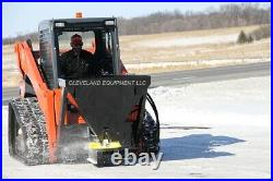 NEW SALT SAND FERTILIZER SPREADER ATTACHMENT Bobcat John Deere Skid Steer Loader
