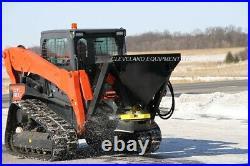 NEW SALT SAND FERTILIZER SPREADER ATTACHMENT Cat Caterpillar Skid Steer Loader