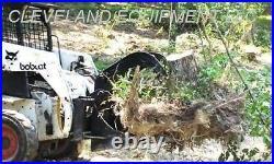 NEW STUMP GRAPPLE BUCKET SKID STEER LOADER TRACTOR ATTACHMENT John Deere Holland