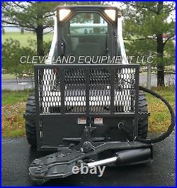 NEW TREE SHEAR ATTACHMENT Skid Steer Loader Tractor Kubota Bobcat John Deere Cat