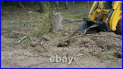 NEW XL STUMP BUCKET ATTACHMENT TREE SPADE RIPPER DIGGER Skid Steer Loader Bobcat