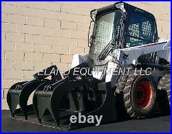 New 66/68 Industrial Scrap Grapple Bucket Skid Steer Loader Attachment Bobcat