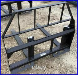 New COMPACT TRACTOR OR SMALL SKID STEER LOADER 42 HD PALLET FORKS fit bobcat
