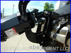 PREMIER MD18 HYDRAULIC AUGER DRIVE ATTACHMENT Skid Steer Loader Post Hole Digger