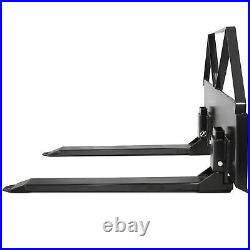 Pallet Forks Attachment for Tractors and Loaders, Skid Steer, Quick Tach, 46