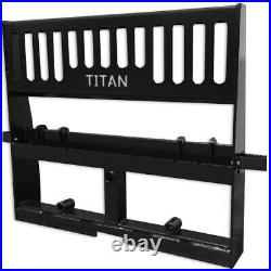 Titan 42 Pallet Fork Attachment Skid Steer Universal HD Pro Duty Tractor Loader