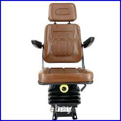 Tractor Suspension Seat Forklift Seat For Excavator Skid Loader Backhoe Dozer US